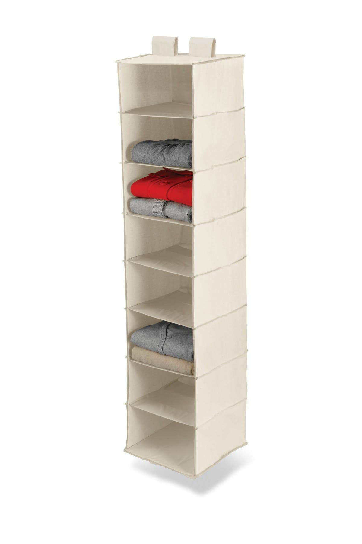 Image of Honey-Can-Do 8 Shelf Hanging Organizer - Natural