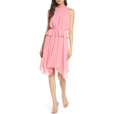 Sam Edelman Peplum Chiffon Dress