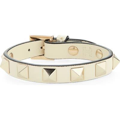 Valentino Rockstud Small Leather Bracelet