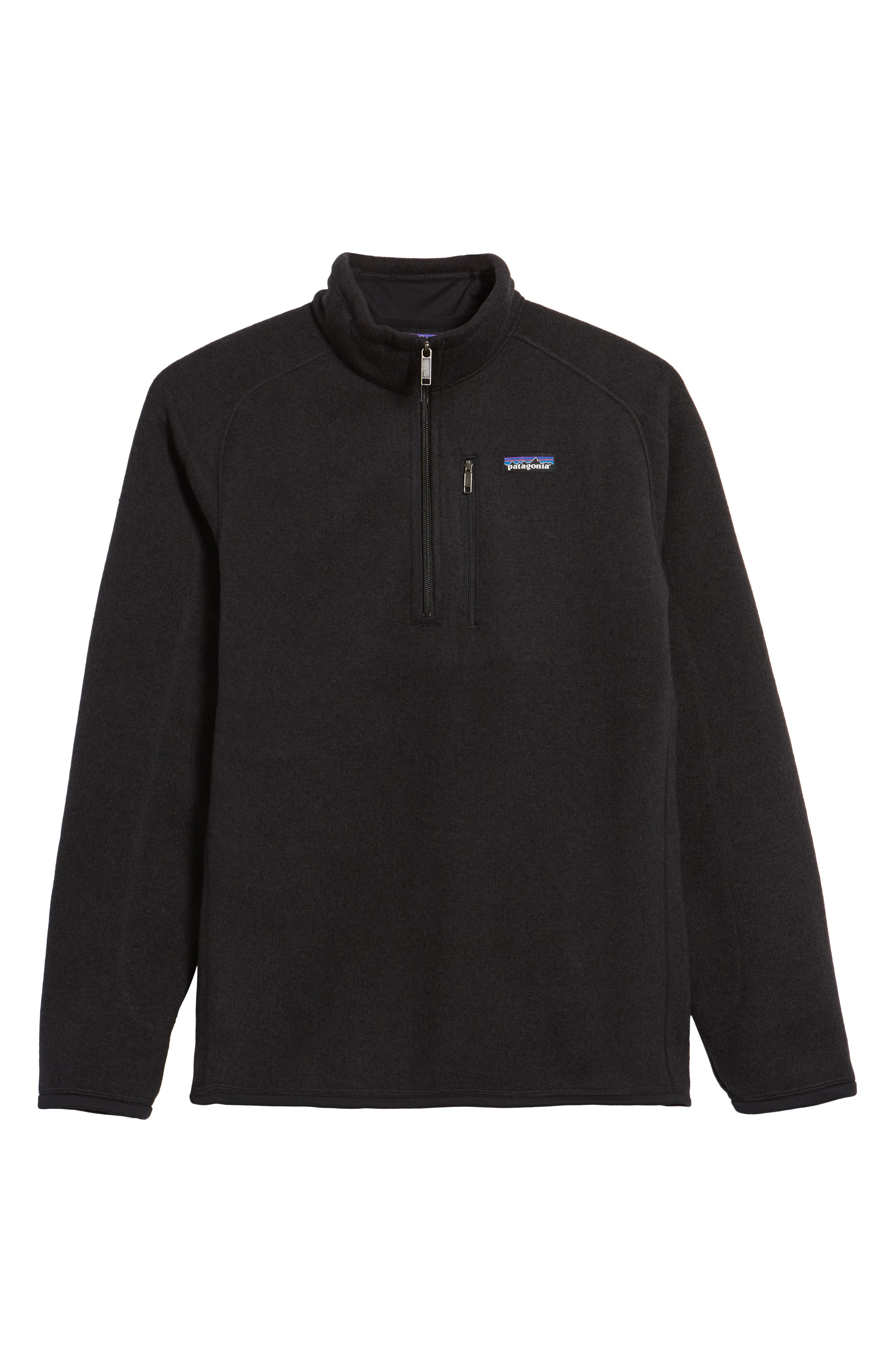 Patagonia Better Sweater Quarter Zip Fleece Lined Pullover