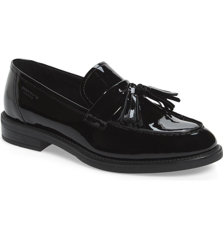 VAGABOND SHOEMAKERS Amina Tassel Loafer, Main, color, BLACK LEATHER