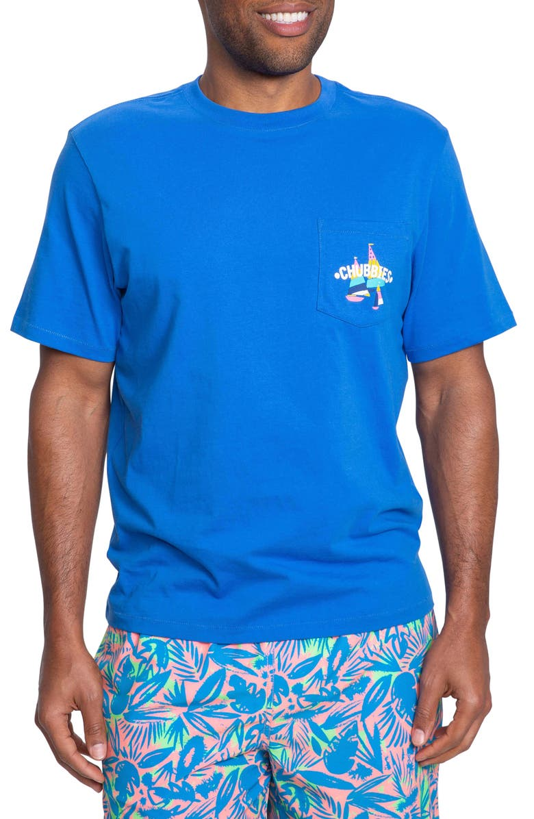 CHUBBIES Carpe Weekend Pocket T-Shirt, Main, color, 400