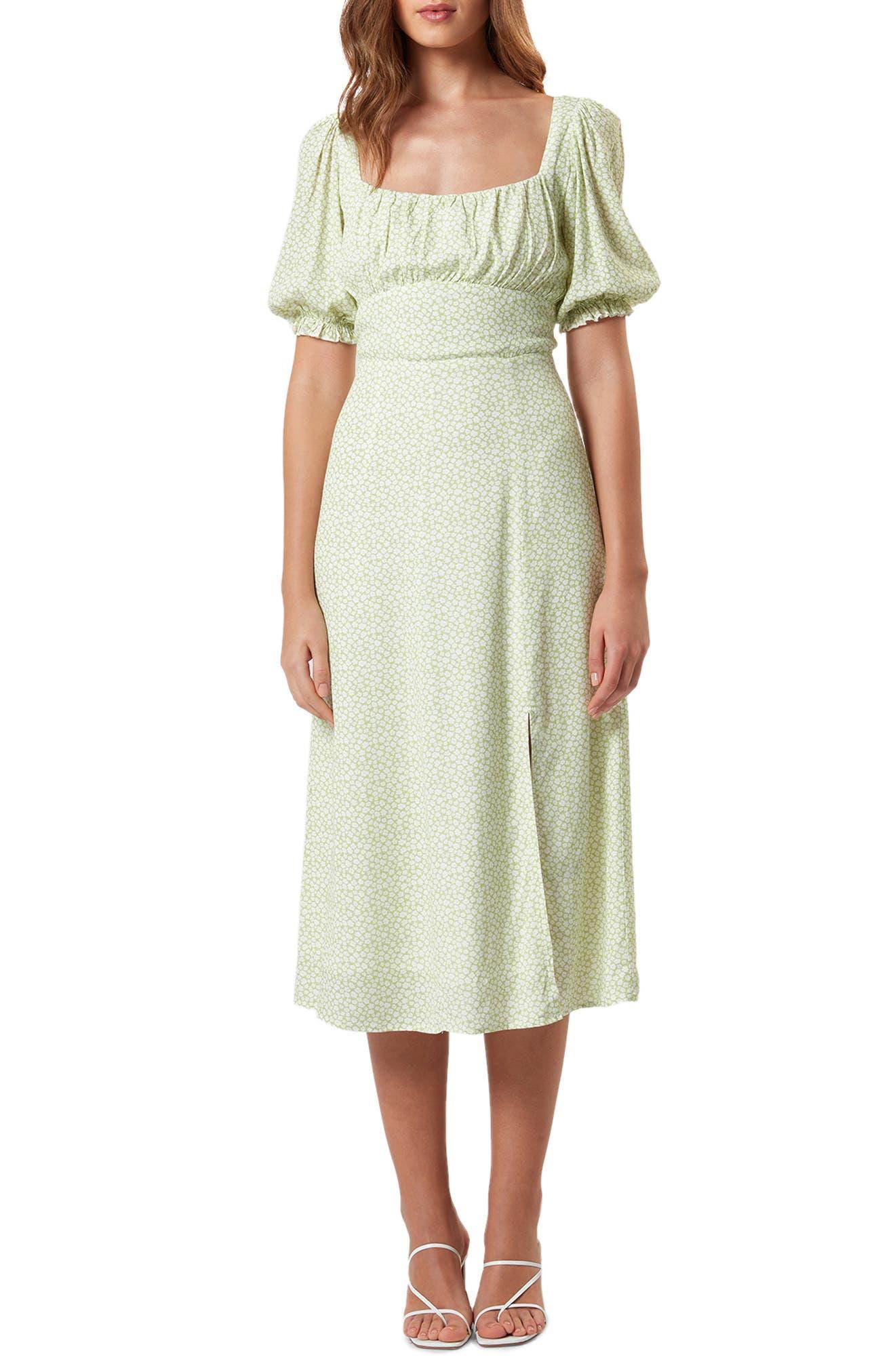 Mia Print Midi Dress