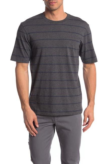 Image of TRAVIS MATHEW 3rd Person Striped T-Shirt