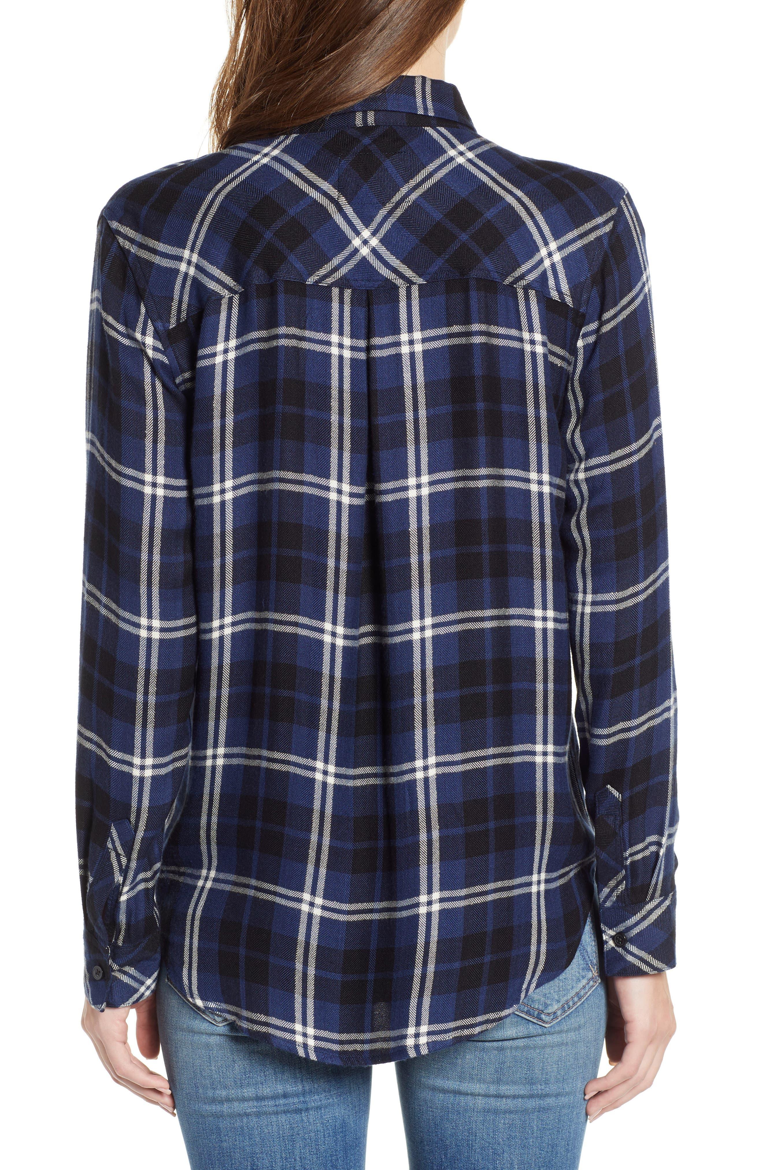 ,                             Hunter Plaid Shirt,                             Alternate thumbnail 335, color,                             411