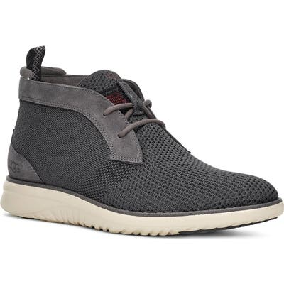 UGG Union Hyperweave Chukka Sneaker- Grey