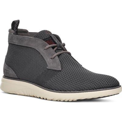 Ugg Union Hyperweave Chukka Sneaker- Grey