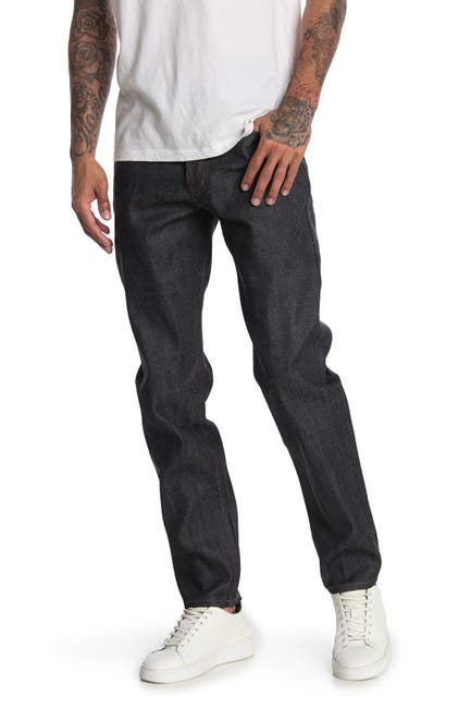 Image of Naked and Famous Easy Guy Classic Slub Jeans