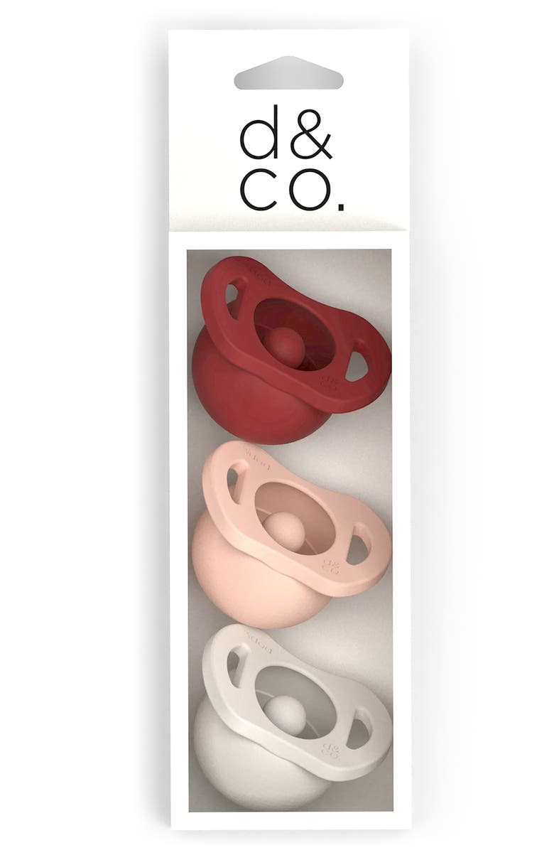 DODDLE & CO 3-Pack The Pop & Go Pacifiers, Main, color, 600
