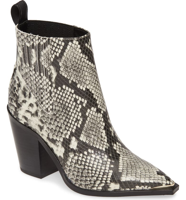 KENNETH COLE NEW YORK West Side Bootie, Main, color, OFF WHITE/ BLACK