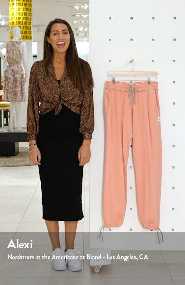 Relaxed Drawstring Pants, sales video thumbnail
