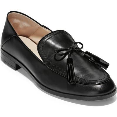 Cole Haan Pinch Tassel Loafer B - Black