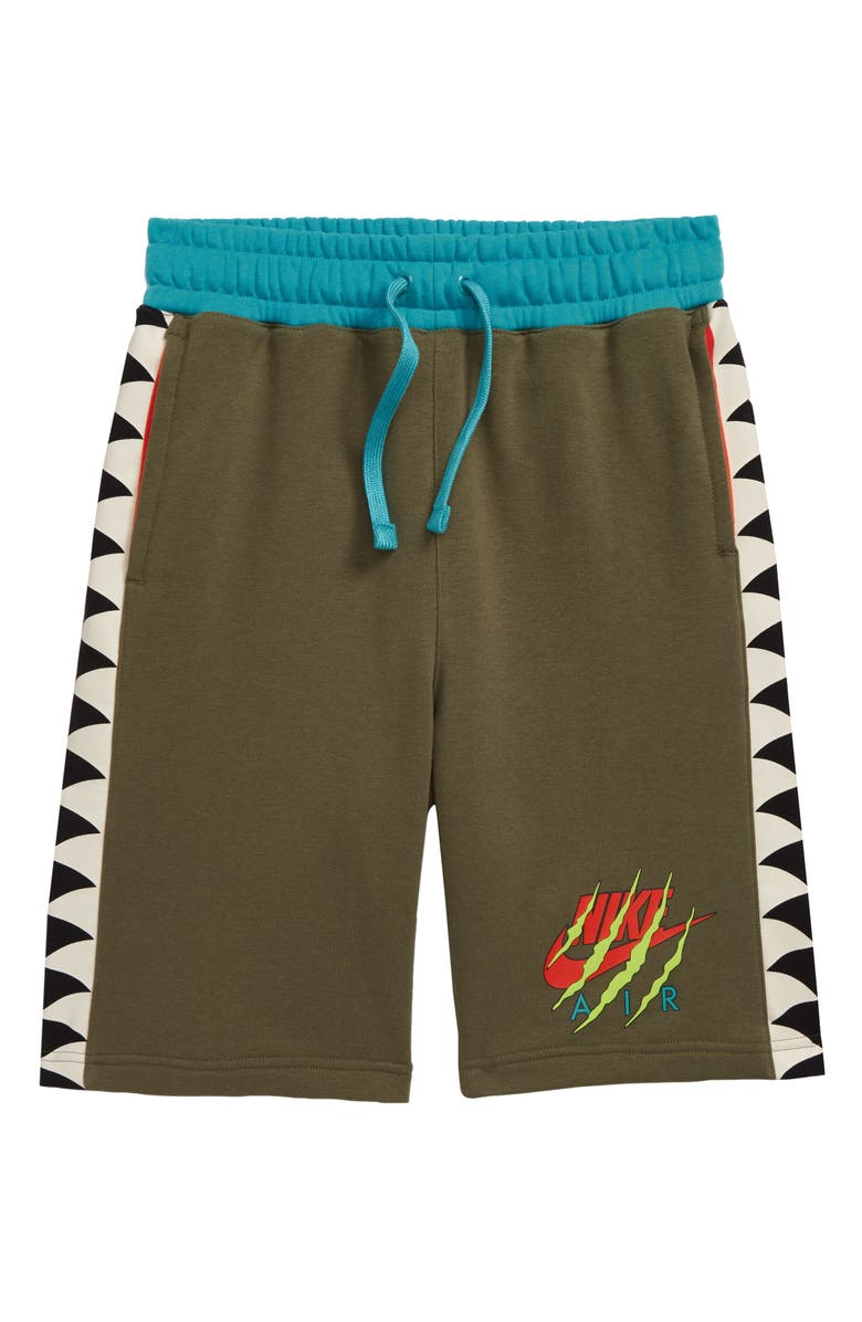 NIKE Sportswear Jurassic Shorts, Main, color, MEDIUM OLIVE