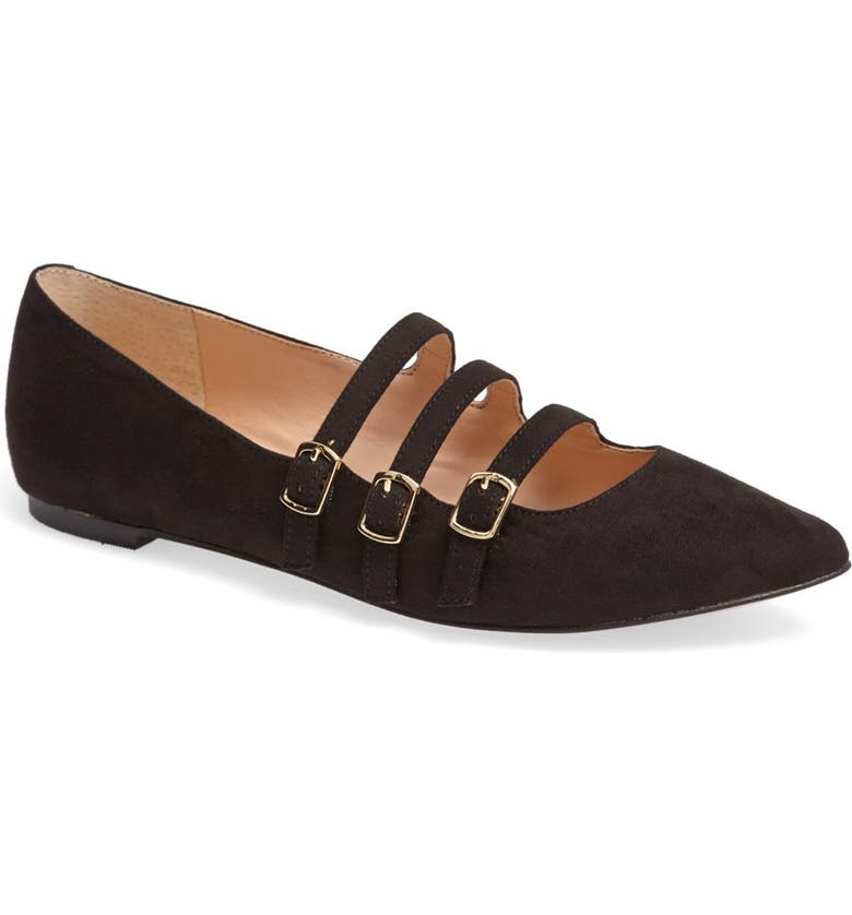 SOLE SOCIETY Julianne Hough for Sole Society 'Emmy' Flat, Main, color, 001