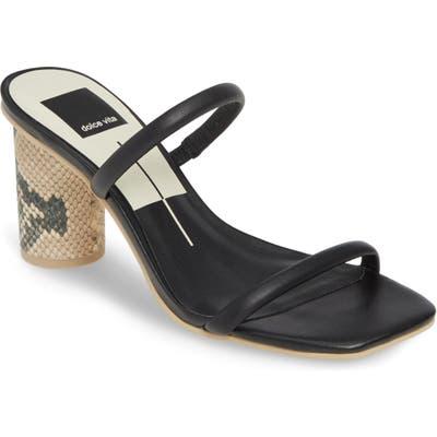 Dolce Vita Noles City Slide Sandal- Black