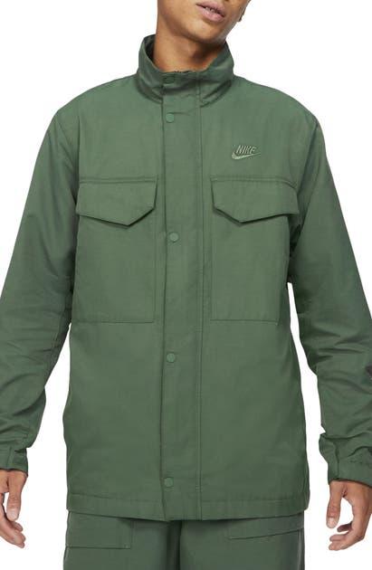 Nike Sportswear Men's Woven M65 Jacket (galactic Jade) In Galactic Jade/ Galactic Jade