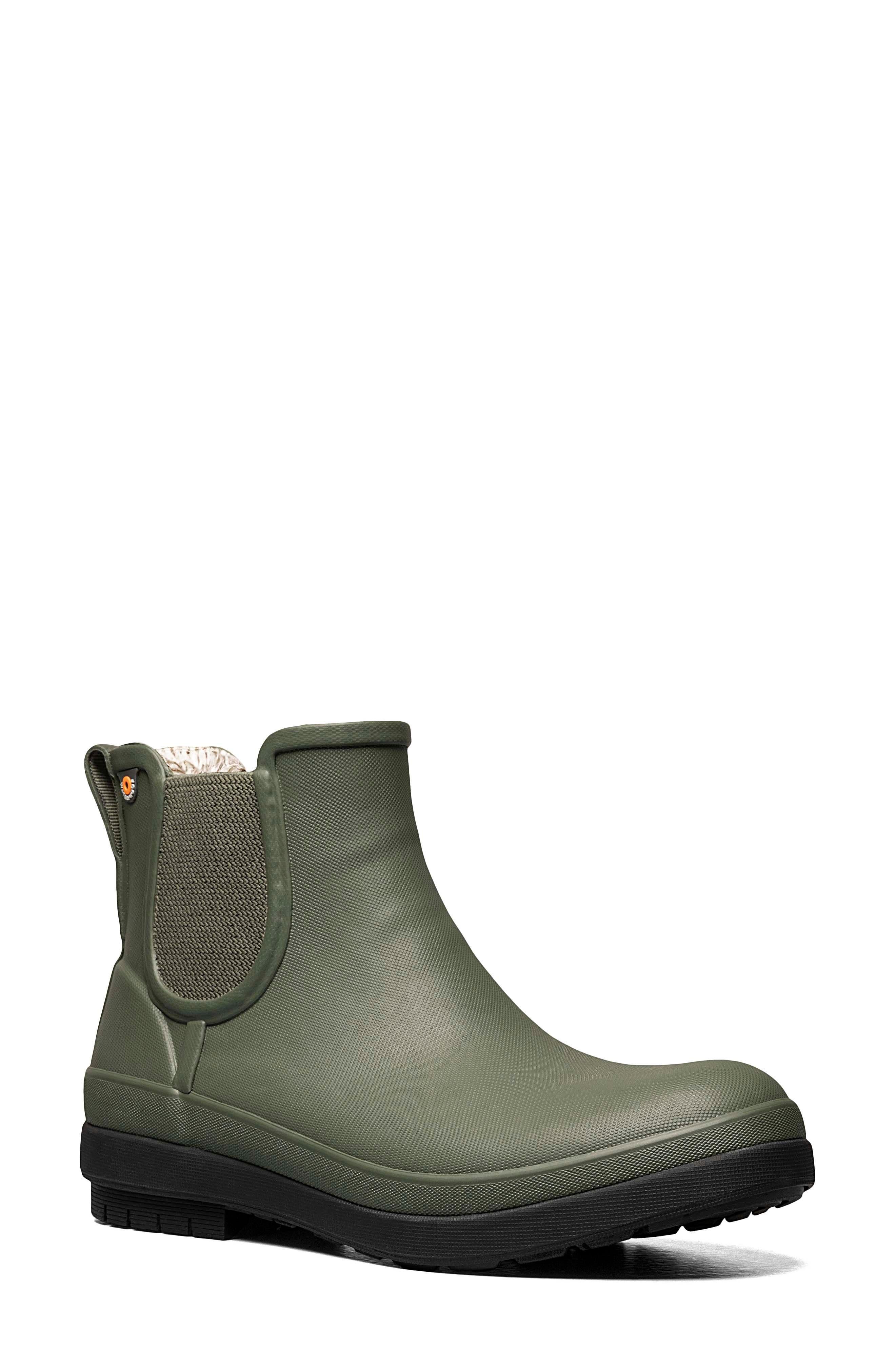 Amanda Ii Waterproof Insulated Chelsea Rain Boot