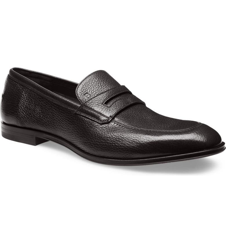 BALLY Webb Penny Loafer, Main, color, BLACK