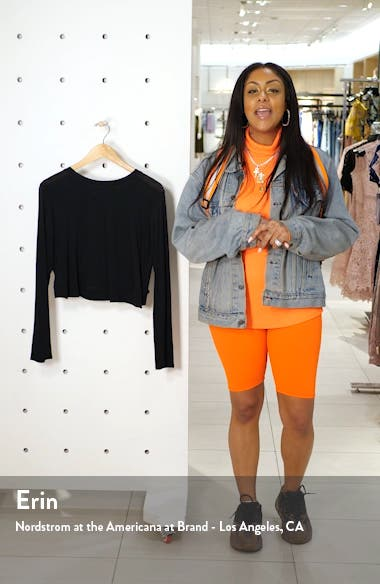 Back Out Crop Pullover, sales video thumbnail