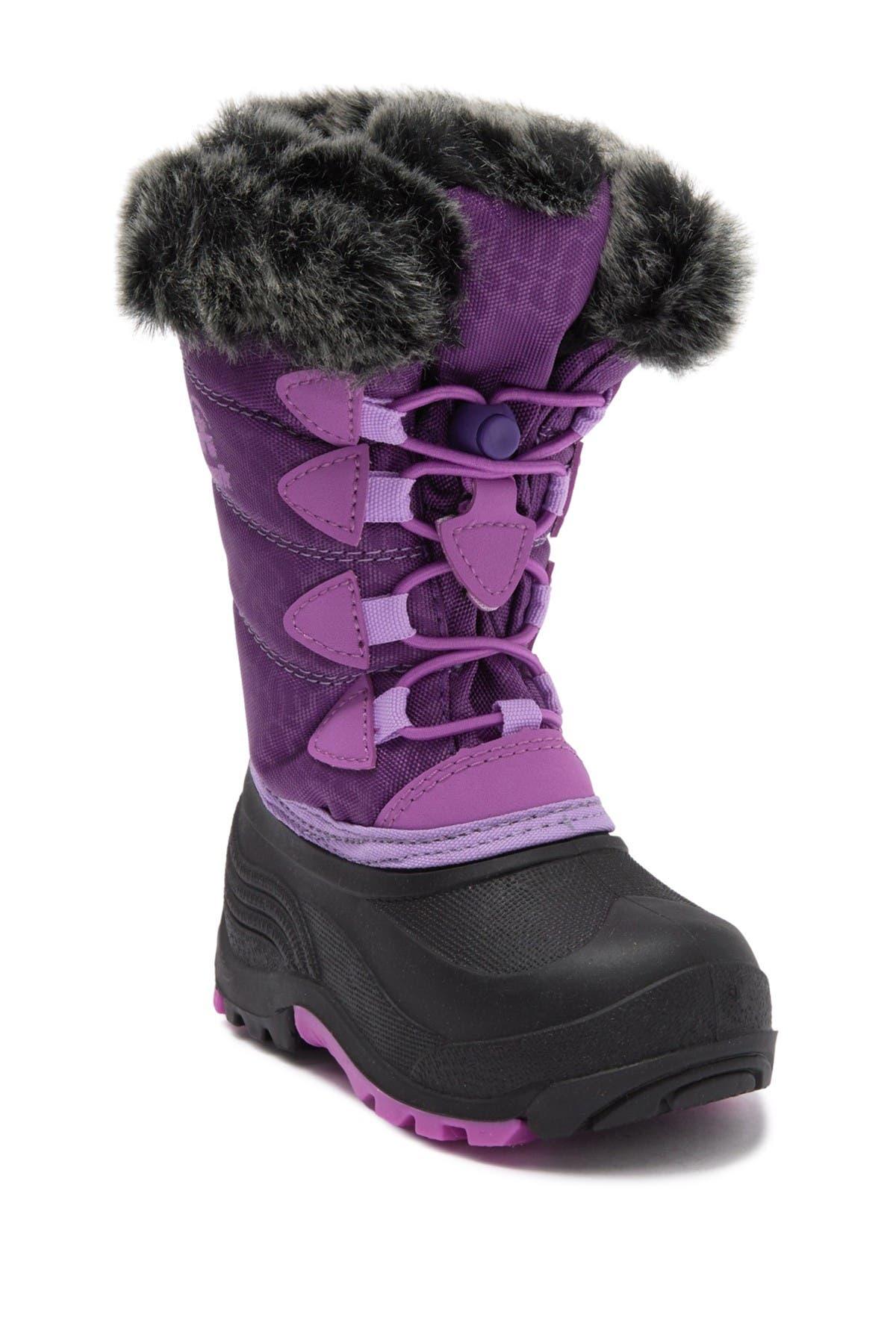 Image of Kamik SnowGypsy3 Waterproof Faux Fur Trim Boot