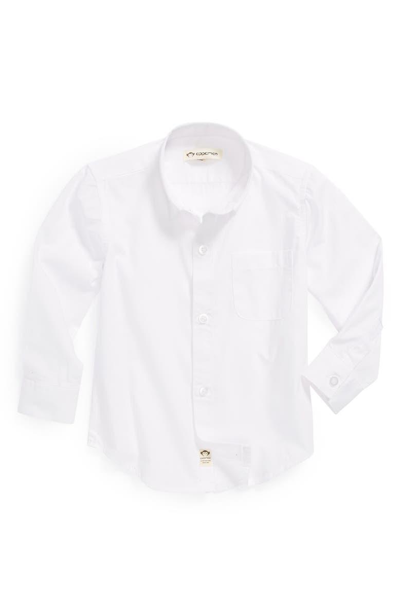 APPAMAN 'Standard' Dress Shirt, Main, color, 100