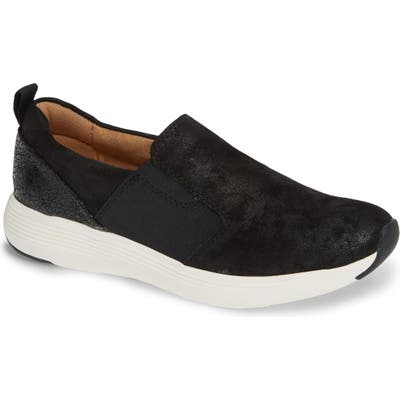 Comfortiva Nicole Slip-On Sneaker- Black