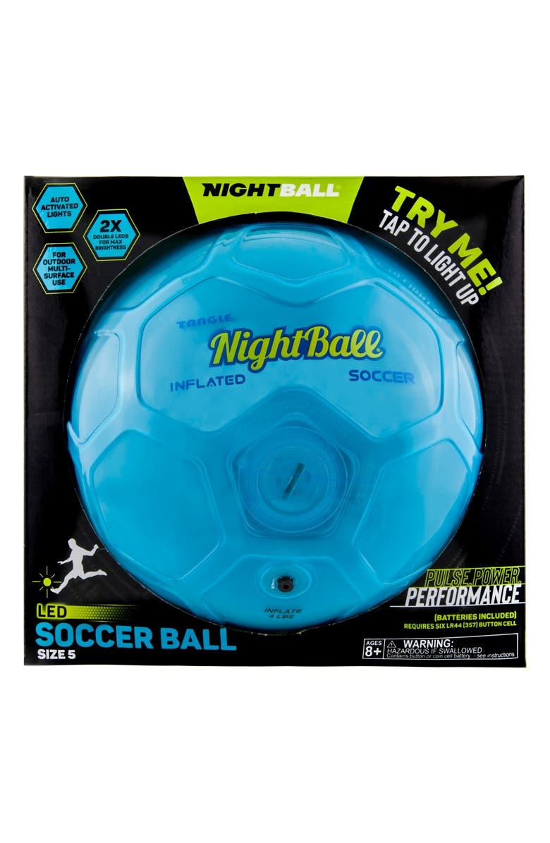 TANGLE NightBall Soccer Ball, Main, color, 400