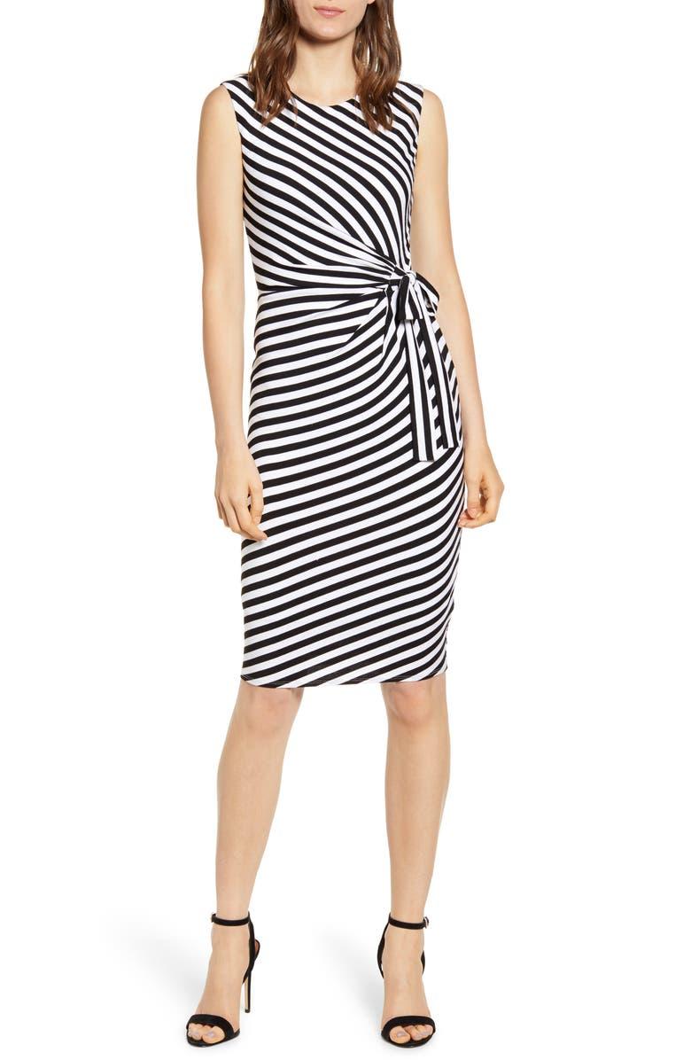 BAILEY 44 Mandrill Stripe Body-Con Dress, Main, color, 001