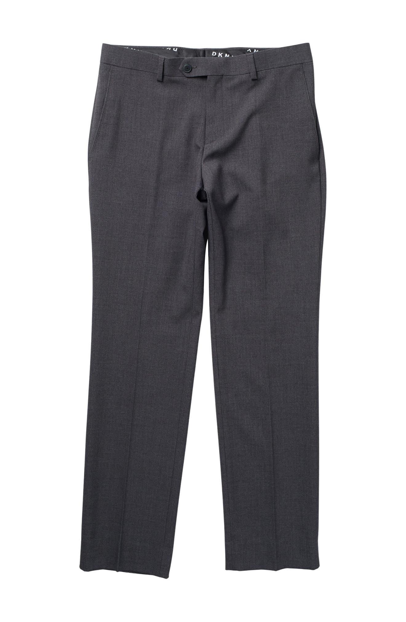 Image of DKNY Plain Stretch Dress Pants