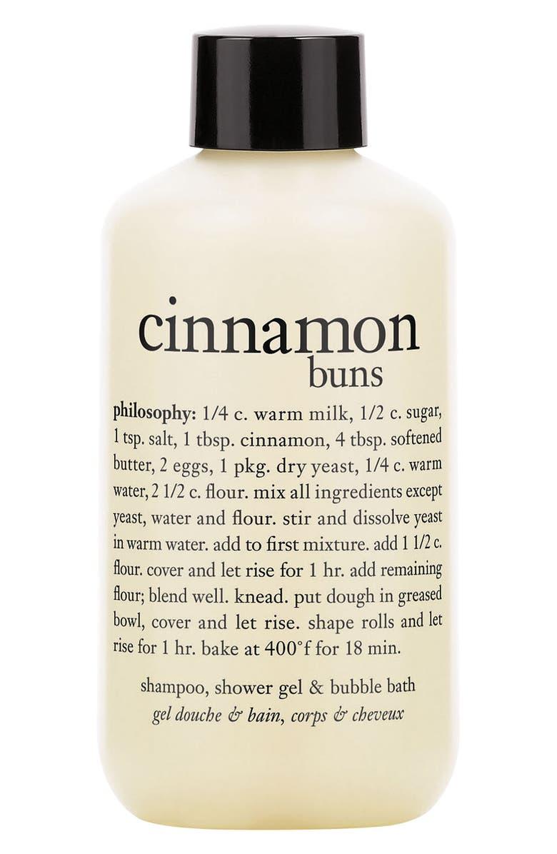 PHILOSOPHY shampoo, shower gel & bubble bath, Main, color, CINNAMON BUNS