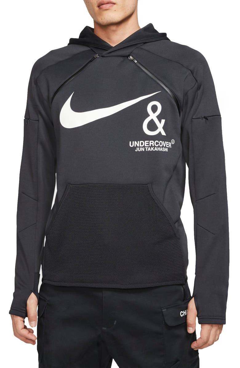 NIKE x Undercover NRG Pullover Hoodie, Main, color, BLACK/ WHITE
