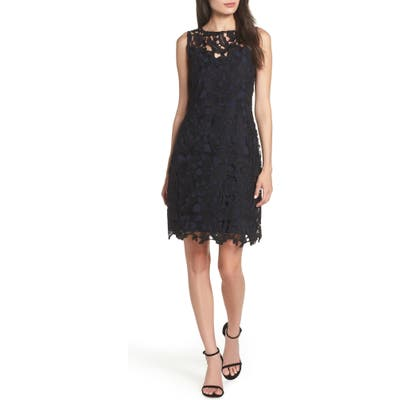 Sam Edelman Lace Sheath Dress, Black