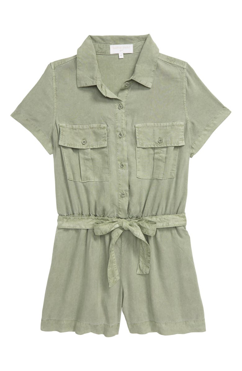 BELLA DAHL Utility Pocket Romper, Main, color, 330