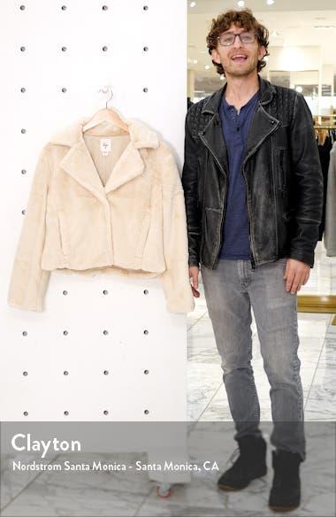 Moon Riser Faux Fur Jacket, sales video thumbnail