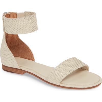 Frye Carson Ankle Strap Sandal- Beige