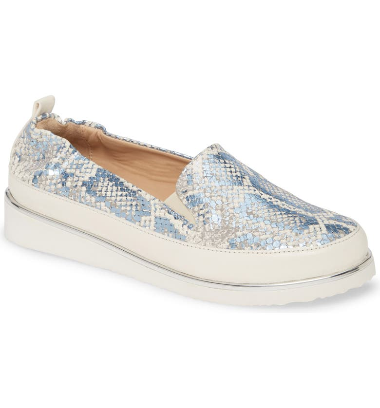 RON WHITE Nell Pitone Slip-On Sneaker, Main, color, SKY