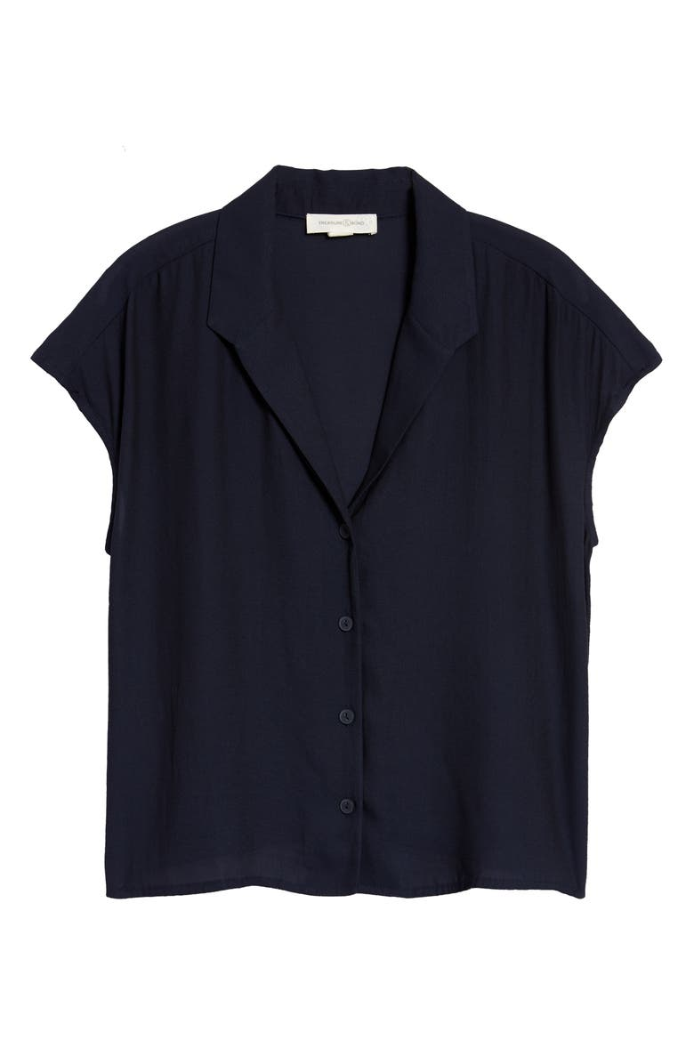 TREASURE & BOND Button-Up Shirt, Main, color, NAVY NIGHT