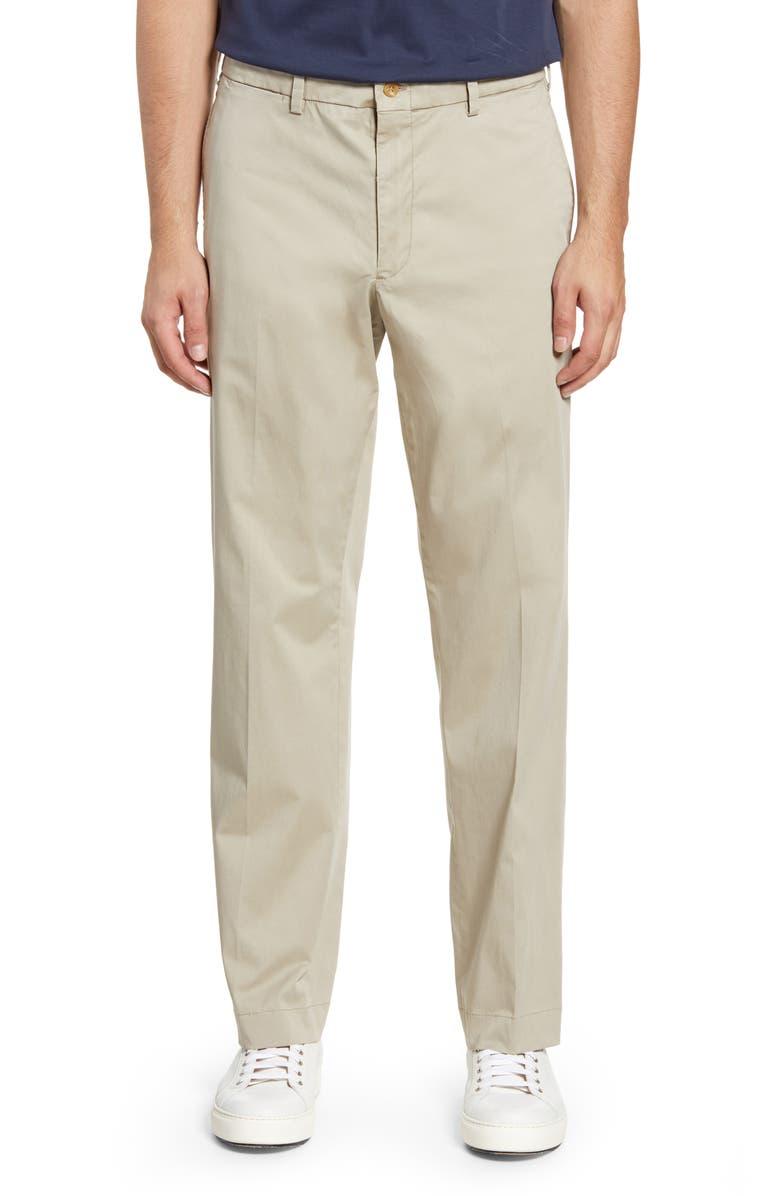BILLS KHAKIS M2 Classic Fit Stretch Sateen Pants, Main, color, KHAKI