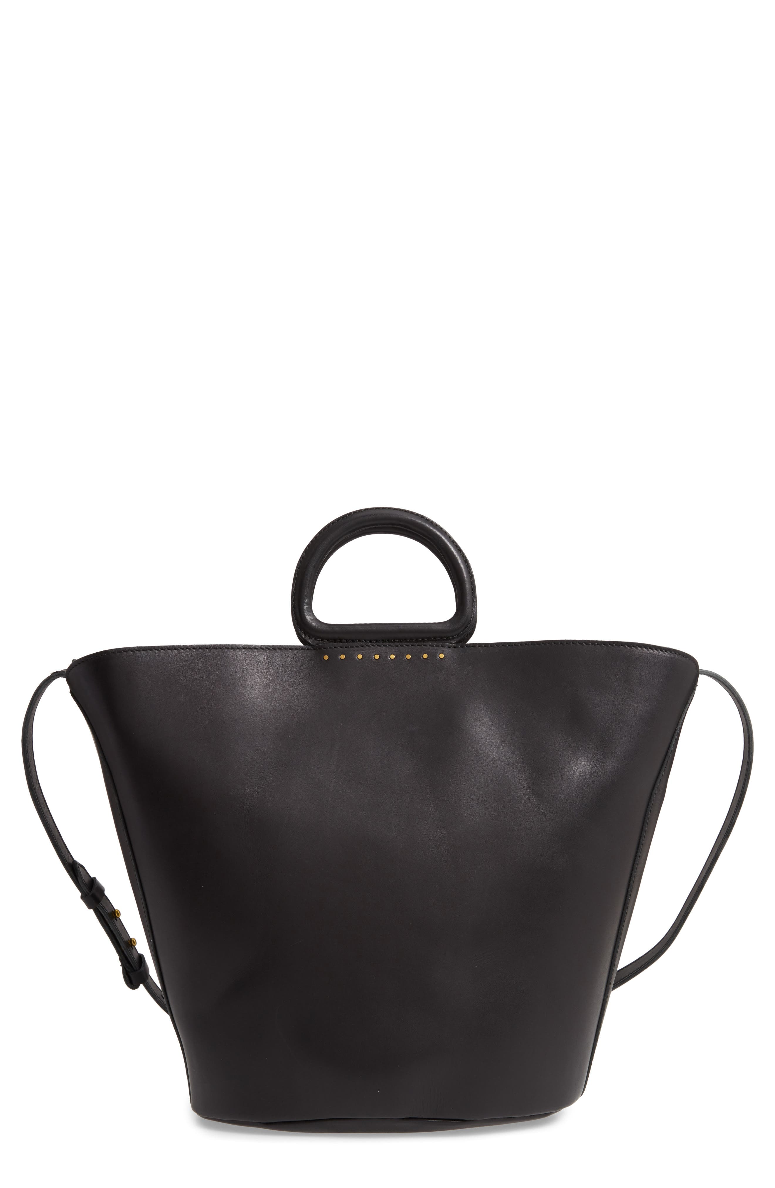 The Westport Tote, Main, color, TRUE BLACK
