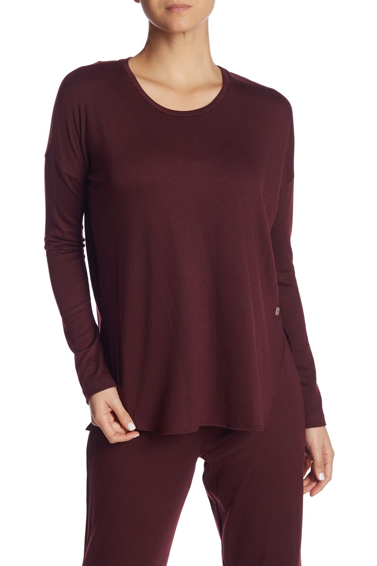 Image of Natori Long Dolman Sleeve Shirt