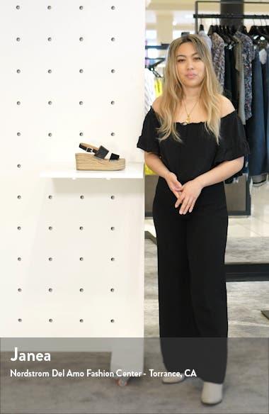 Edie Espadrille Platform Sandal, sales video thumbnail