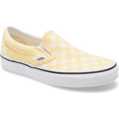 Vans Classic Slip-On Sneaker- Yellow