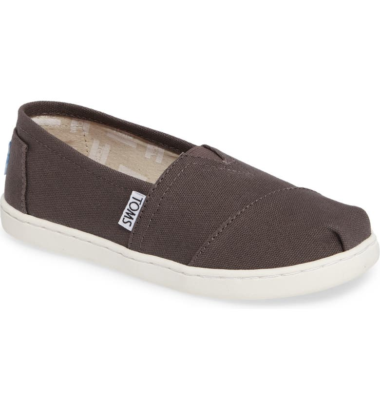 TOMS 2.0 Classic Alpargata Slip-On, Main, color, ASH CANVAS