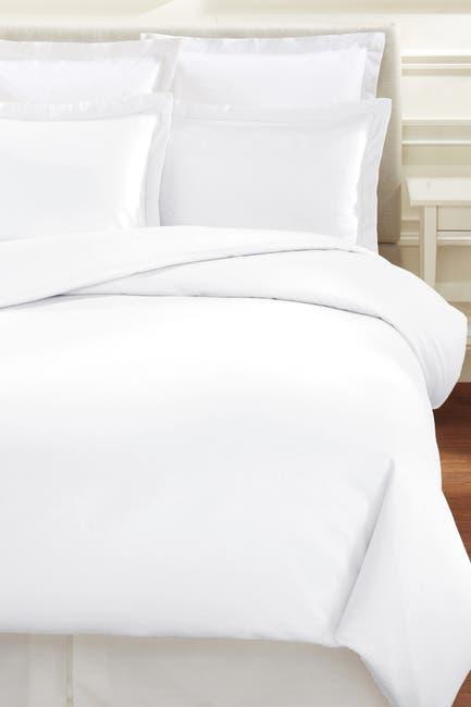 Image of Melange Home Full/Queen 600 Thread Count Cotton Hemstitch Duvet 3-Piece Set
