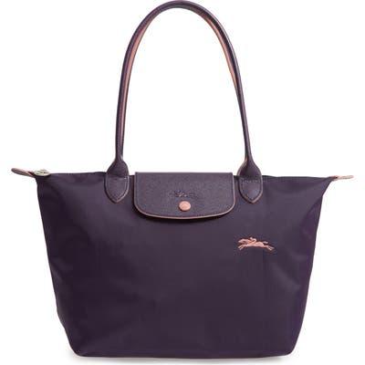 Longchamp Le Pliage Club Medium Shoulder Tote - Purple