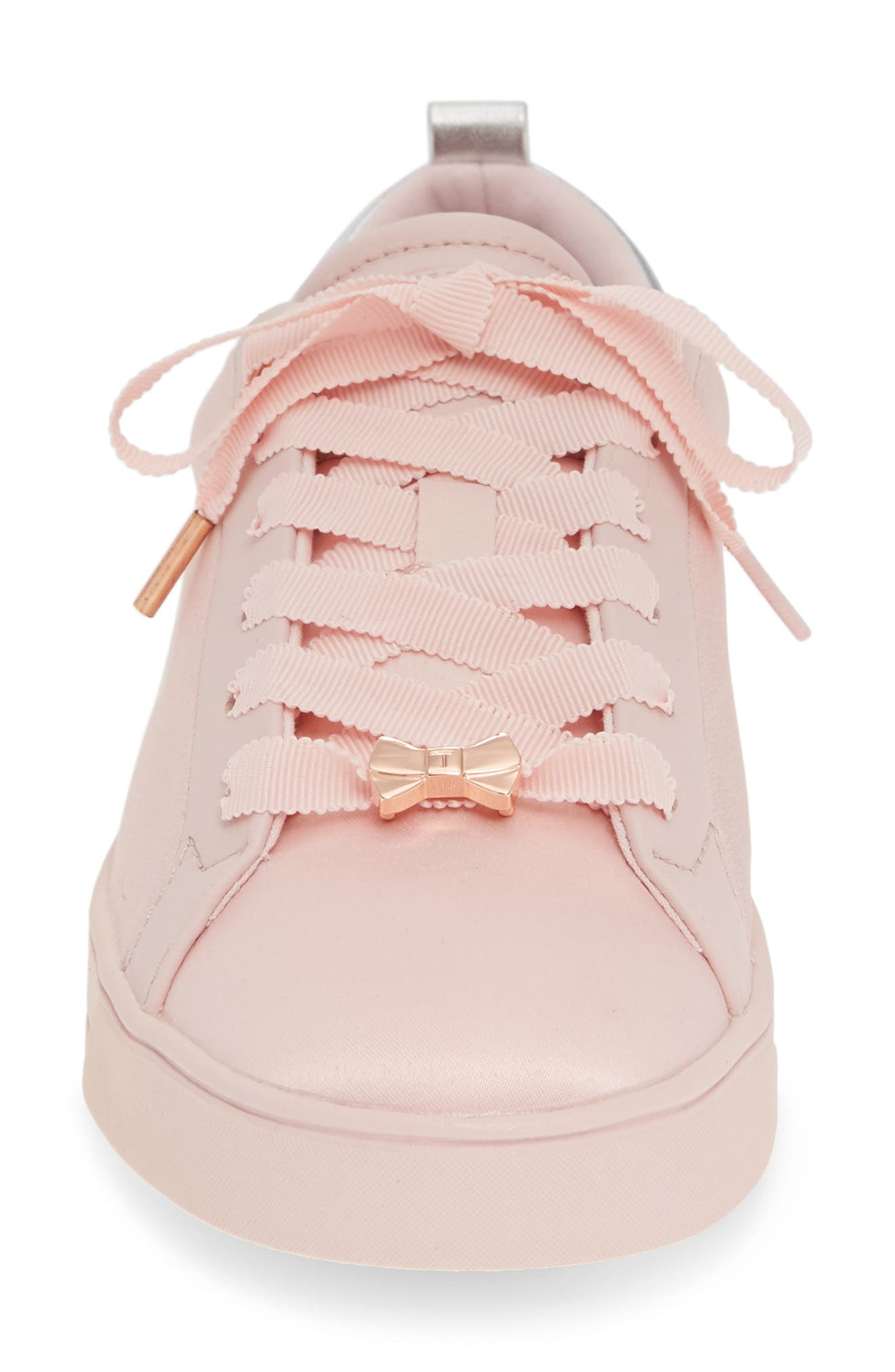 ,                             Rialy Sneaker,                             Alternate thumbnail 4, color,                             PINK ILLUSION SATIN