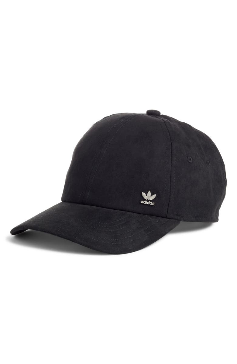 ADIDAS Originals Relaxed Ball Cap, Main, color, BLACK