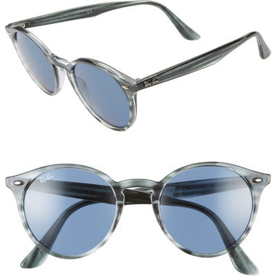 Ray-Ban Highstreet 51Mm Round Sunglasses -