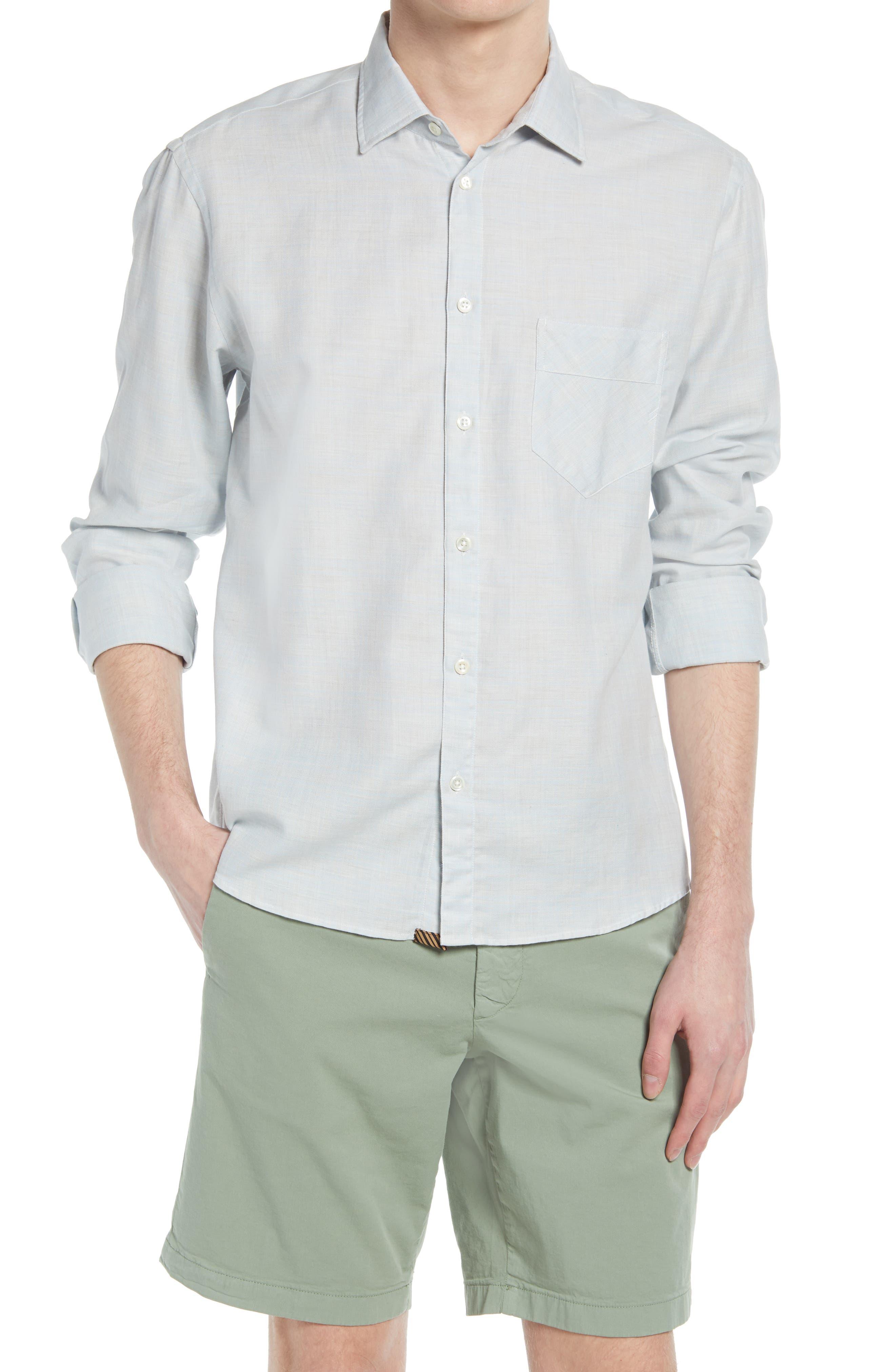 Cotton Button-Up Shirt