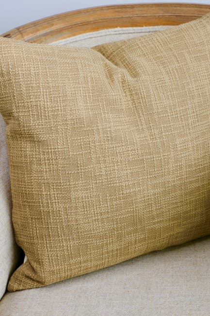 Yaya Co Ambar Brown Cotton Slub Pillow Nordstrom Rack
